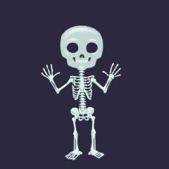 fillette-Squelette