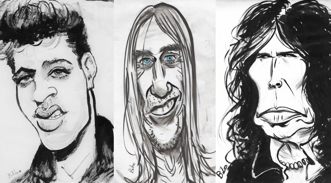 Caricatures de Bibo Bergeron